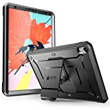 iPad Pro 11 '' Case 2018 Release, SUPCASE [UB Pro Series] with Built-in Screen Protector Kickstand Full-body Rugged Protective Case for Apple iPad Pro 11 Inch 2018, Not Compatible Apple Pencil (Black)