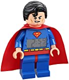 "9.5"", Alarm & Snooze Functions Superman Mini-Figure Clock"