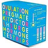 PREGMATE 100 Ovulation Test Strips LH Surge Predictor OPK Kit (100 LH)