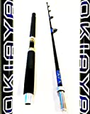 OKIAYA COMPOSIT 50-80 Pound The Beast Portable Saltwater Big Game Roller Rod