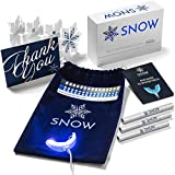 Snow Teeth Whitening Kit All-in-One At-Home System for Whiter Teeth Without Sensitivity, WHITER TEETH IN AS LITTLE AS 9 MINUTES, 5-YEAR WARRANTY, 350,000,000+ WORLDWIDE FANS, Ships Worldwide