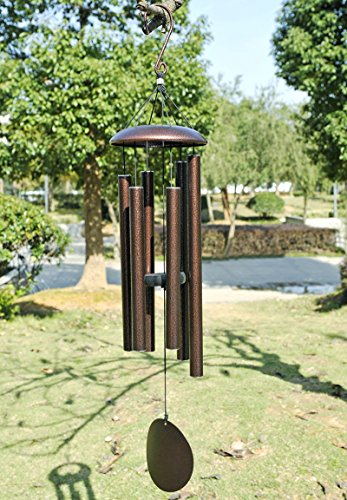 Agirlgle-Large-Metal-Wind-Chimes-Tuned-36-Garden-Wood-wooden-Windchimes-for-Patio-and-Terrace-Best-Large-Musical-Windchime-Outdoor-and-Home-Decorationbronze