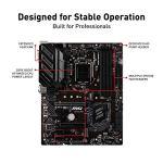 MSI Z390-A PRO LGA1151 (Intel 8th and 9th Gen) M.2 USB 3.1 Gen 2 DDR4 HDMI DP CFX Dual Gigabit LAN ATX Z390 Gaming…