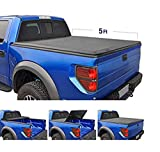 Tyger Auto T3 Tri-Fold Truck Bed Tonneau Cover TG-BC3N1028 Works with 2005-2019 Nissan Frontier; 2009-2014 Suzuki Equator   Fleetside 5' Bed   for Models with or Without The Utili-Track System