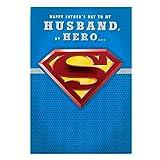 Hallmark Husband Superman Fathers Day Card My Hero - Medium