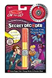 Melissa & Doug On the Go Secret Decoder Activity Book - The Case of the Runaway Ruby