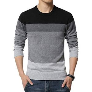NanGate Sweater O-Neck Striped Knitting Mens Sweaters and Pullovers Men Pullover Men M-5XL