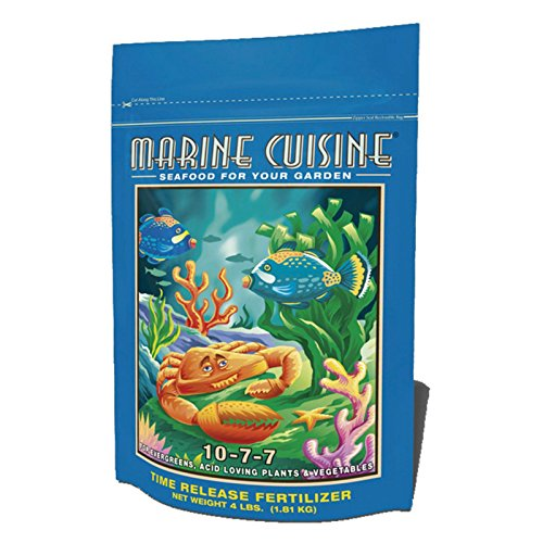 FoxFarm FX14016 752289790393 Marine Cuisine Dry Fertilizer, 4-Pound, Brown