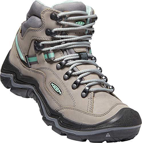 KEEN - Durand II Mid Waterproof Leather Hiking Boot, Grey Flannel/Steel Grey, 8.5 M US