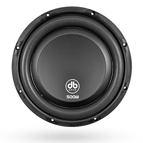 db Drive K5F 10D4 DVC Flat Subwoofer 500W Dual 4 Ω Voice Coil, 10'
