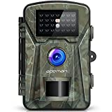 APEMAN Trail Camera 12MP 1080P 2.4' LCD Game&Hunting Camera with 940nm Upgrading IR LEDs Night Vision up to 65ft/20m IP66 Spray Water Protected Design
