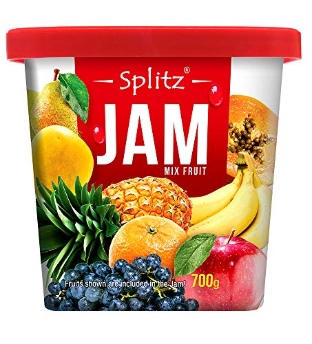 51qh7PVk7qL - Splitz Mixed Fruit Jam - 700g