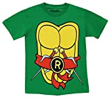 TMNT Teenage Mutant Ninja Turtles Costume Green Raphael Toddler T-shirt (Red Raphael) (Toddler 2T)
