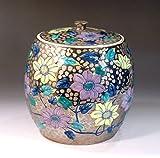 Arita - Imari | green tea bowl - tea utensils | Platinum Aya iron wire Hanae water finger Fujii NishikiAya