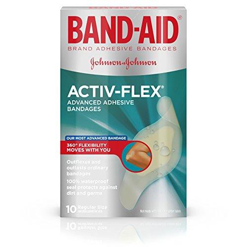 Band-aid Brand Adhesive Bandages Activ-Flex...