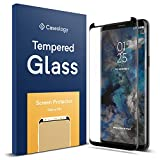 Caseology Galaxy S9 Plus Screen Protector, [Tempered Glass] Full Coverage with Guide Frame [Easy Installation] for Samsung Galaxy S9 Plus - 1 Pack
