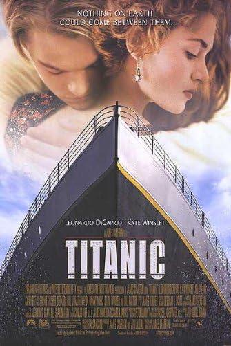 Amazon.com: Titanic Original 27 X 40 Theatrical Movie Poster ...