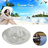 LuckCome Arctic Sunscreen Hat -Arctic Cooling Hat Evaporative Heatstroke Protection Cooling Cap with Wide Brim for Men to Protection UV