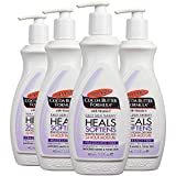 Palmer's Cocoa Butter Formula Daily Skin Therapy Body Lotion  |  Fragrance Free for Sensitive Skin  |  24 Hour Moisturization  |  Pump Bottle 13.5 fl. oz. (Pack of 4)