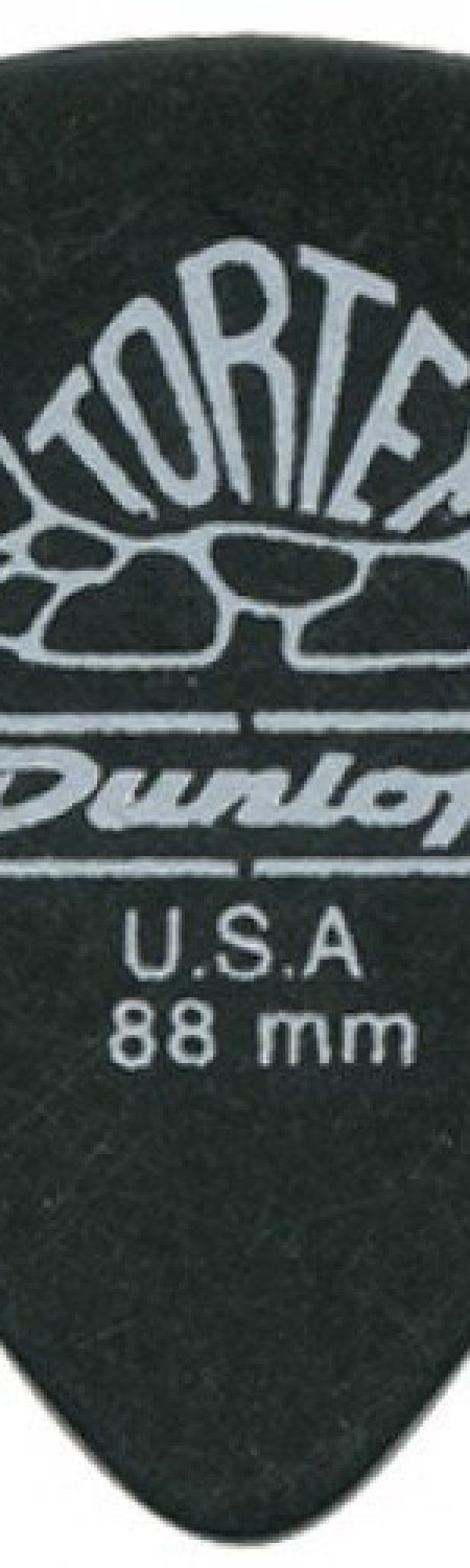 Dunlop 488P.88 Tortex Pitch Black