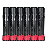 HK Army High Capacity Pods - Black / Red - 6 Pack