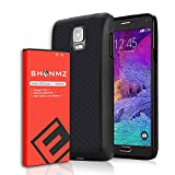 SHENMZ Note 4 Extended Battery 7500mAh Extended Battery with Special TPU Case + Back Cover,Replacement Extended Battery for Samsung Galaxy Note 4 N910 N910U N910V N910T N910A N910P