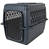 Aspen Pet Porter Heavy-Duty Pet Carrier,Dark Gray/Black,50-70 LBS
