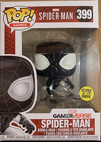 Funko Pop! Spider-Man: Gamerverse - Negative Suit GITD - GameStop Exclusive