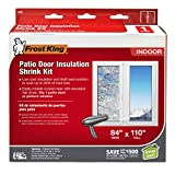 Frost King V76H Shrink Window Kit 84-Inch by 110-Inch, Clear