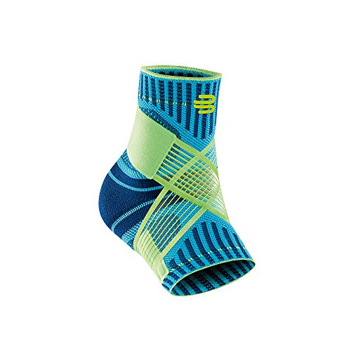 Bauerfeind Sports Ankle Support - Breathable Compression (Rivera, Medium/Left)