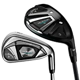 Callaway Golf 2018 Men's Rogue X Combo Set (Set of 8 Total Clubs: 5H, 6H, 7-PW, AW, SW, Right Hand, Graphite, Senior Flex)