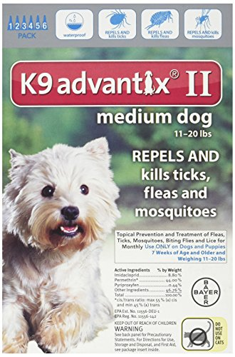 how to apply k9 advantix ii for dogs