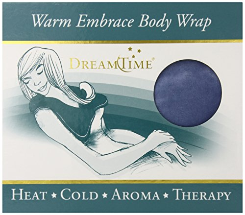 DreamTime Warm Embrace Body Wrap, Larkspur Blue