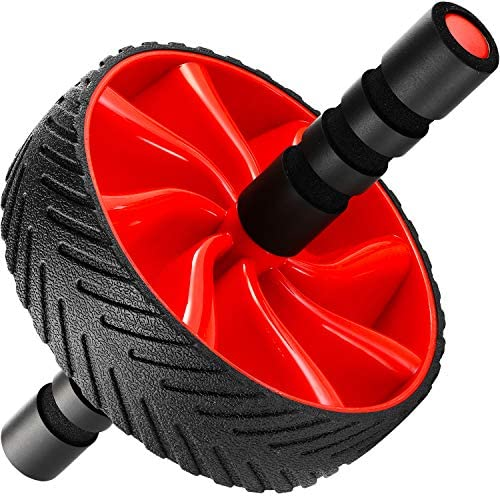 N1Fit Ab Roller Wheel - Sturdy Ab Workout Equipment for Core Workout - Ab Exercise Equipment as Abdominal Muscle Toner - Ab Exercise Equipment Used as at Home Workout Equipment for Both Men & Women 3