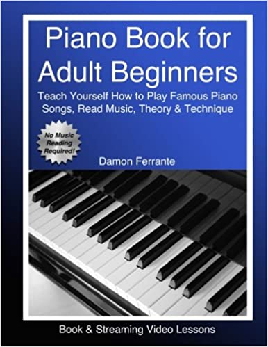 Piano Book for Adult Beginners: Teach Yourself How to Play Famous ...