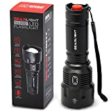 GearLight High-Powered LED Flashlight S1200 - Mid Size, Zoomable, Water Resistant, Handheld Light with 5 Modes - Best High Lumen Camping, Outdoor, Emergency Flashlights