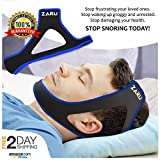 Premium Anti Snore Chin Strap [2019 Upgraded Version] - Advanced Snoring Solution Scientifically Designed to Stop Snoring Naturally and Give You The Best Sleep of Your Life (black.)