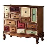 Furniture of America Zeppo Storage Chest, Antique Walnut