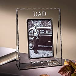 Personalized Picture Frame for Dad Table Top