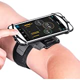 Newppon 180° Rotatable Running Phone Armband :with Key Holder for Apple iPhone Xs Max XR X 8 7 6 6S Plus Samsung Galaxy S9+ S9 S8 S7 S6 Edge Note 8 Google Pixel LG,for Sports Workout Exercise Jogging