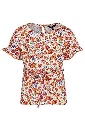 STOP by Shoppers Girls Round Neck Floral Print Top TODAY OFFER ON AMAZON