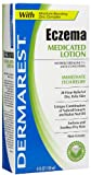 Dermarest Eczema Medicated Lotion - 4 oz, Pack of 6