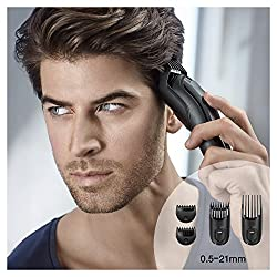 Braun MGK3020 Men's Beard Trimmer for Hair/Hair Clippers/Head Trimming, Grooming Kit, 6-in1 Precision Trimmer, 13 Length Settings for Ultimate Precision  Image 3