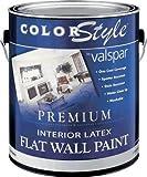 Valspar 44-26300 QT 1 Quart White ColorStyle Interior Latex Flat Wall Paint