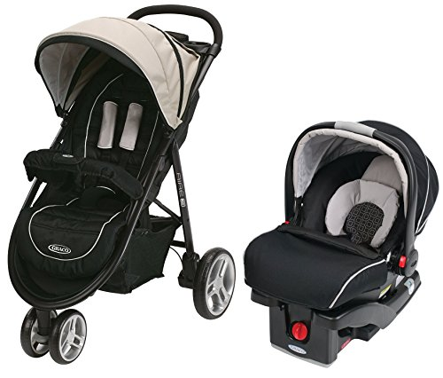 Graco Aire3 Click Connect Stroller Travel System, Pierce