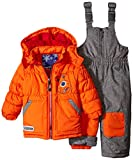 Rugged Bear Baby Boys' Robot Snowsuit, Orange, 12 Months