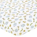 Babies R Us Percale Crib Sheet - Safari