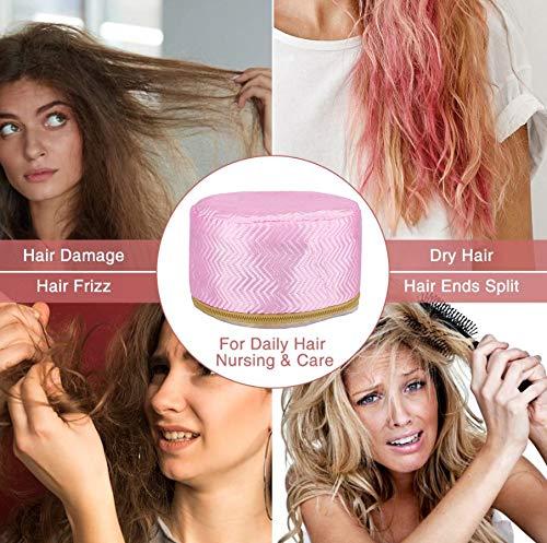 51rXWmvSKAL PETRICE Hair Care SPA Cap Beauty Steamer Hair Thermal Treatment Nourishing Hat