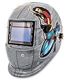 Shop Iron 41288 Solar Powered Auto Darkening Welding Helmet