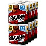 Brawny Paper Towels, 16 XL Rolls, Pick-a-Size ,16 = 32 Regular Rolls, White